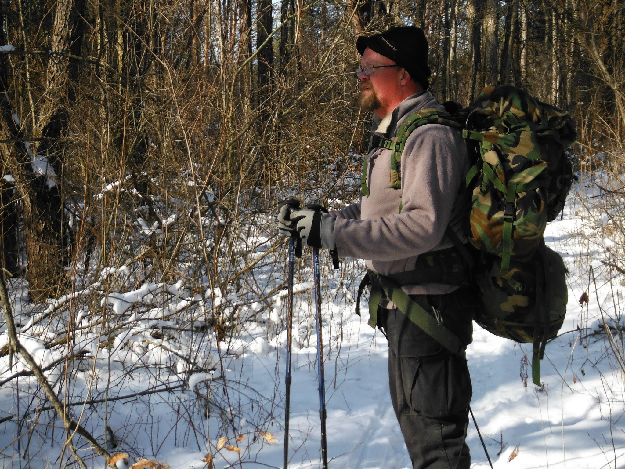 hiking-prepper-woods