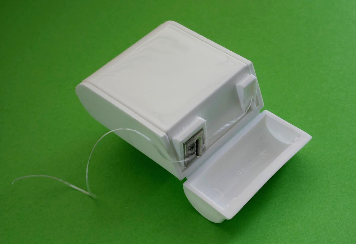 Dental-Floss-Container